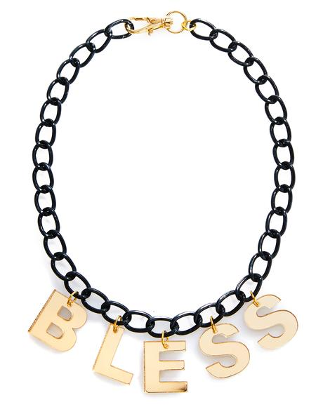 Bless Necklace