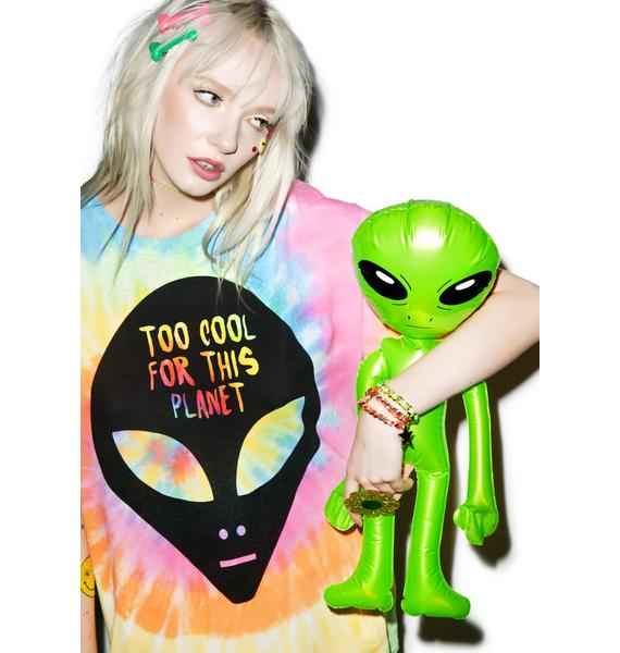 Burger And Friends Too Cool For This Planet Tee
