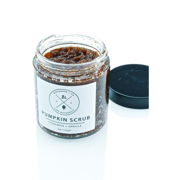 Birchrose + Co Pumpkin Body Scrub