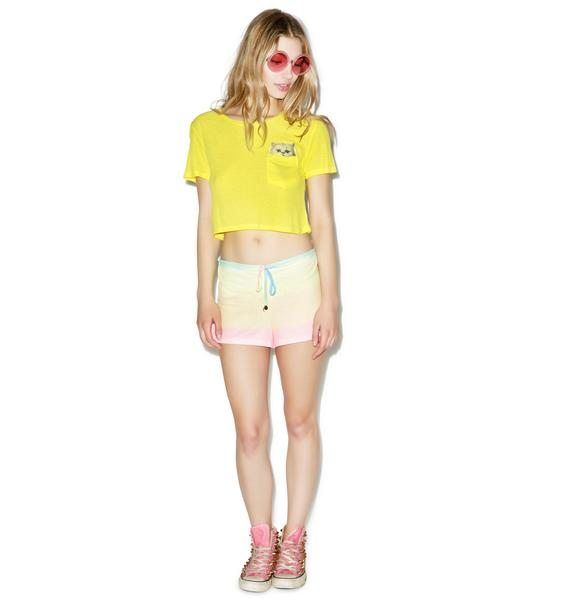 Wildfox Couture Cute Flavor Caribbean Crop
