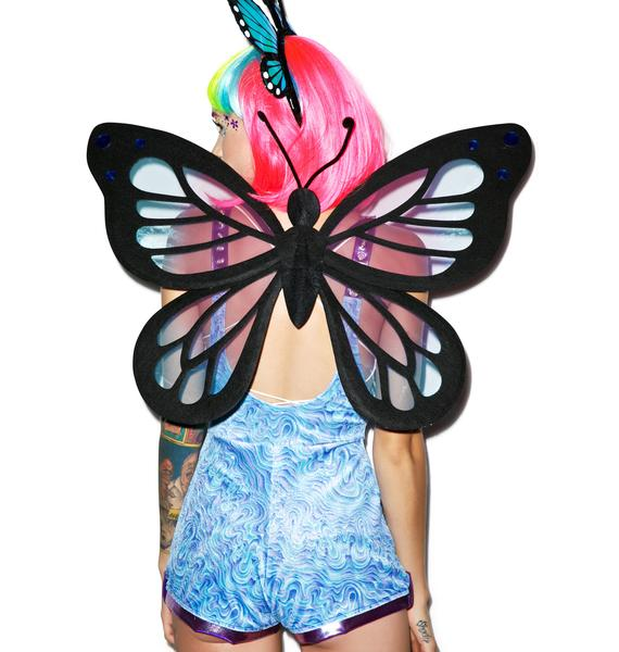 Fly High Like A Butterfly Wings