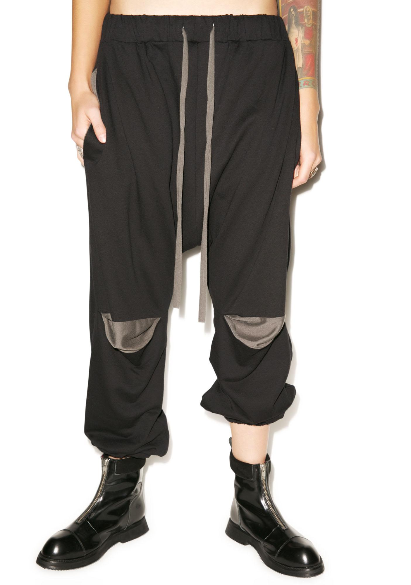 MNML Smoke Drop Crotch Pants