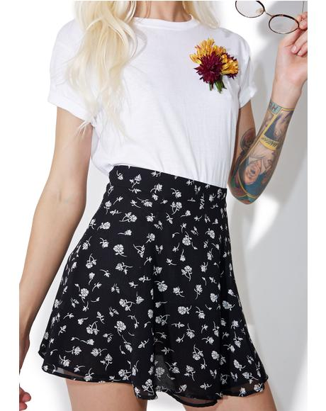 Floral Swing Set Skirt