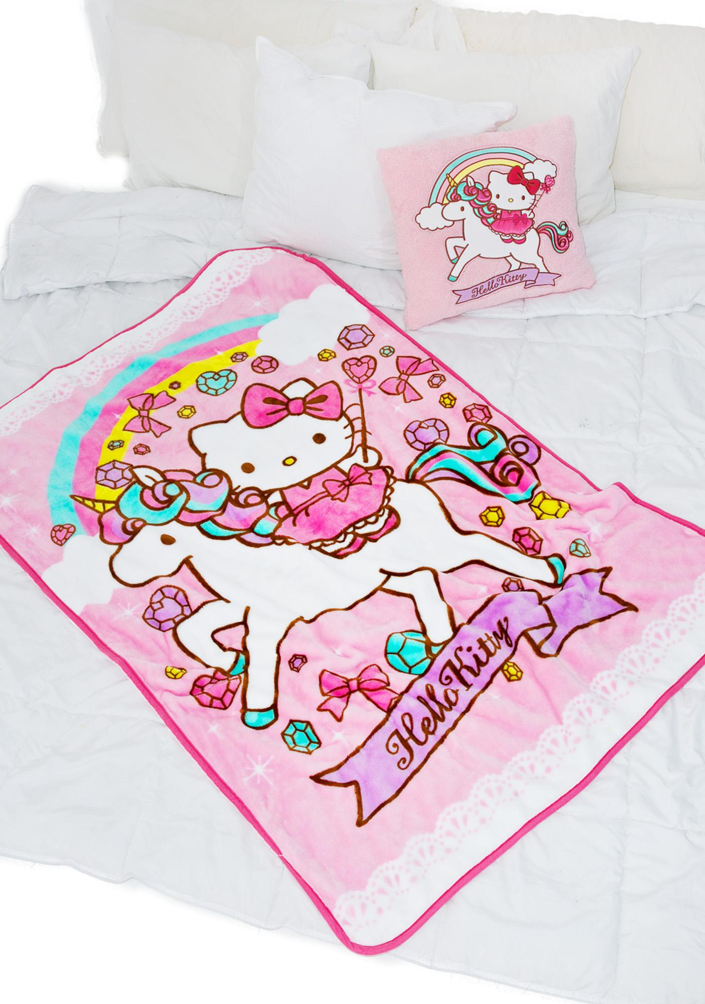 Sanrio Unicorn Kitty Blanket