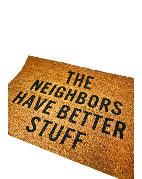 Neighbors Doormat