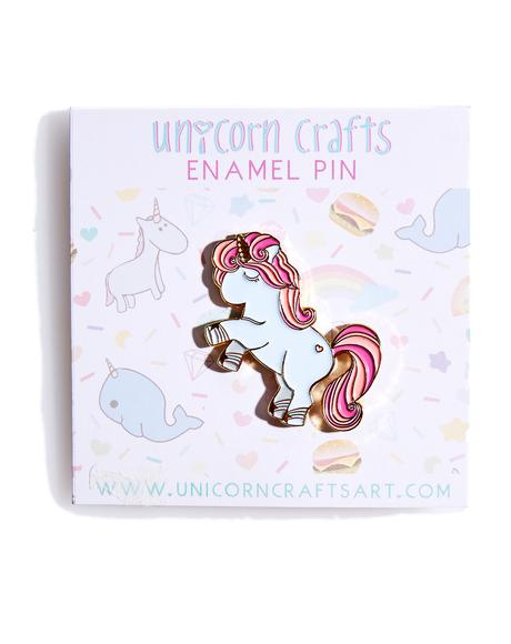Pretty Unicorn Enamel Pin