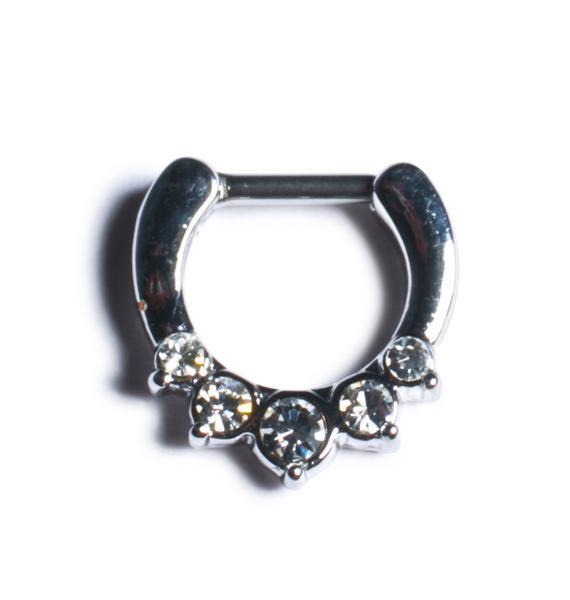 Girl's Best Friend Septum Ring