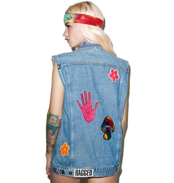 The Ragged Priest Cheech Denim Vest