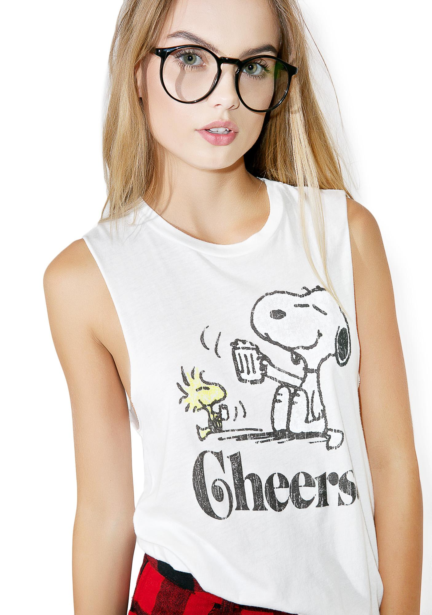 Daydreamer Snoopy Cheers Tank