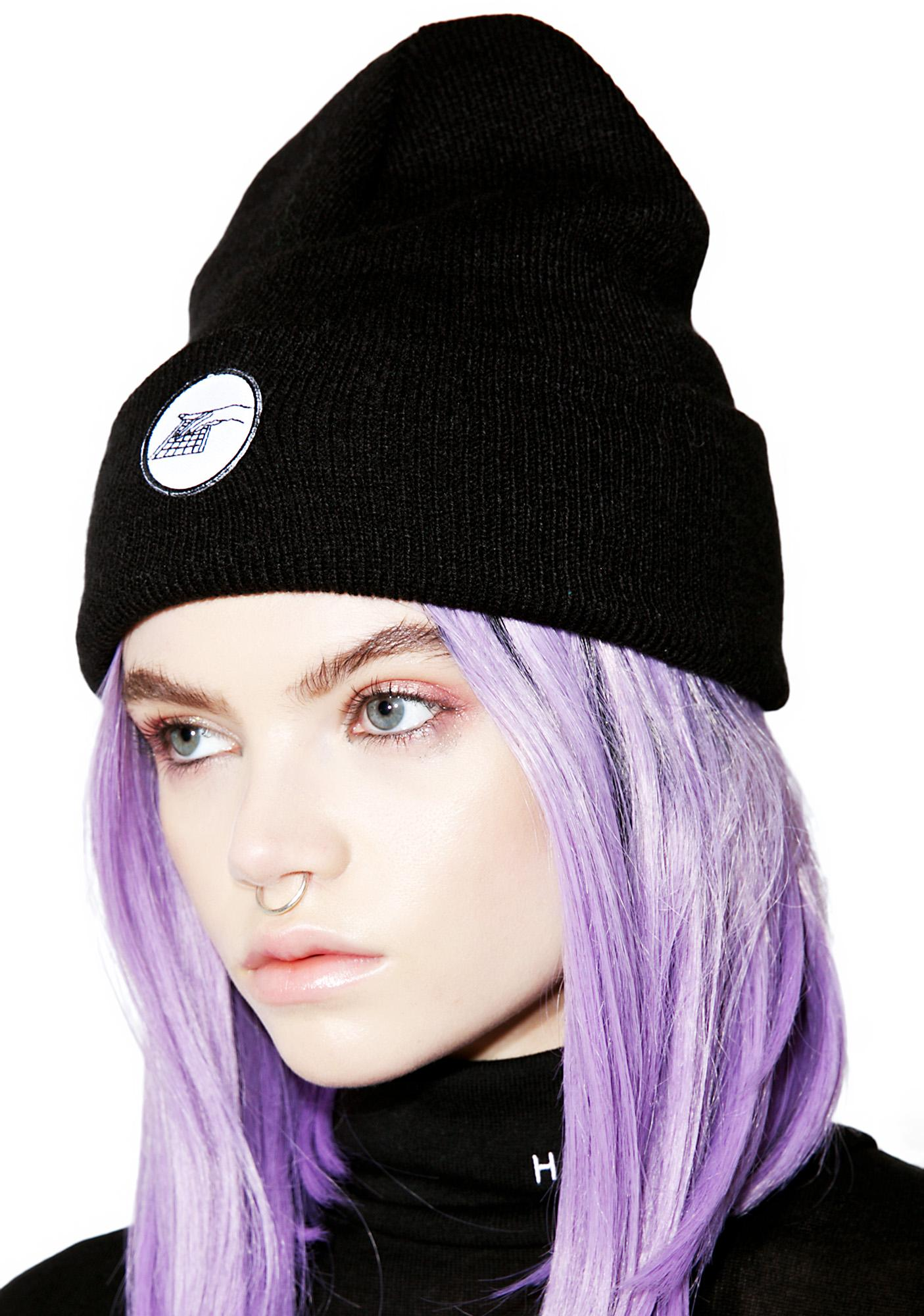 Working Girls Co Hand Patch Beanie
