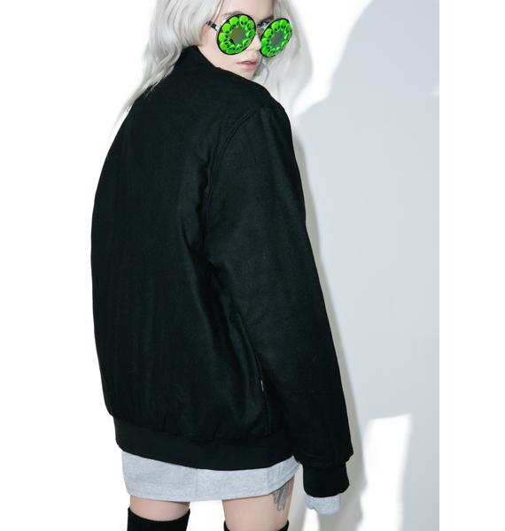 RIPNDIP Get Outer Here Varsity Jacket