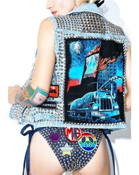 Vintage Deadstock Love Bites Vest