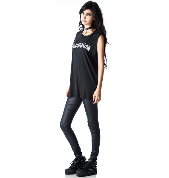 Lip Service Moderation Sleeveless Tee