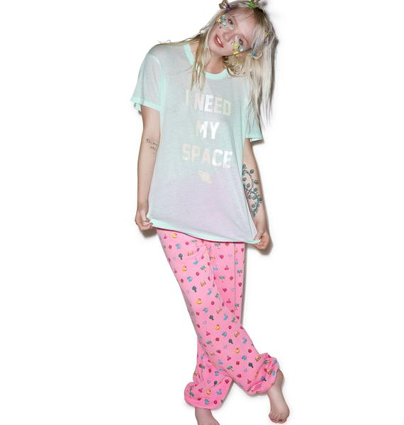 Wildfox Couture I Need My Space Oversized Tee