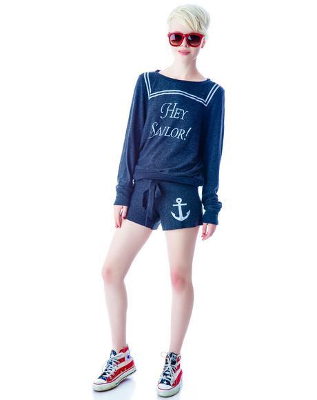 Hey Sailor Cutie Shorts