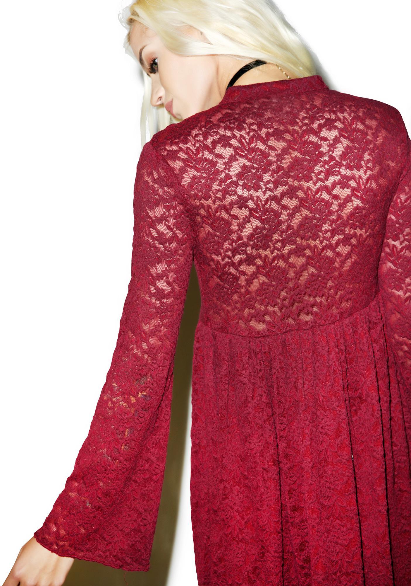 Somedays Lovin Night Dust Lace Dress