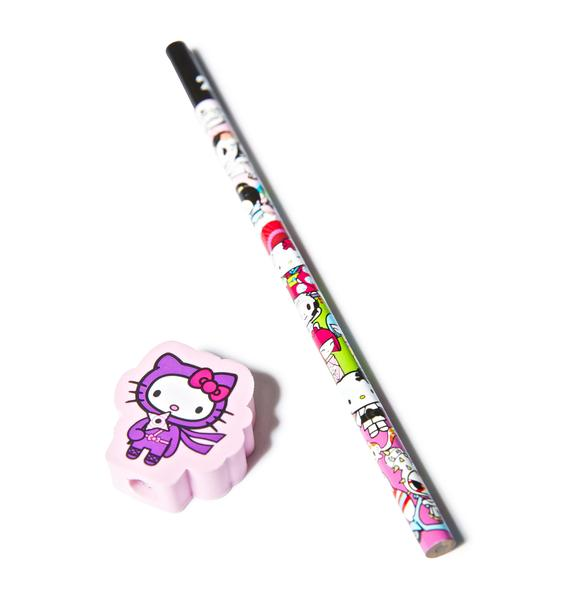 Tokidoki x Hello Kitty Ninja Pencil