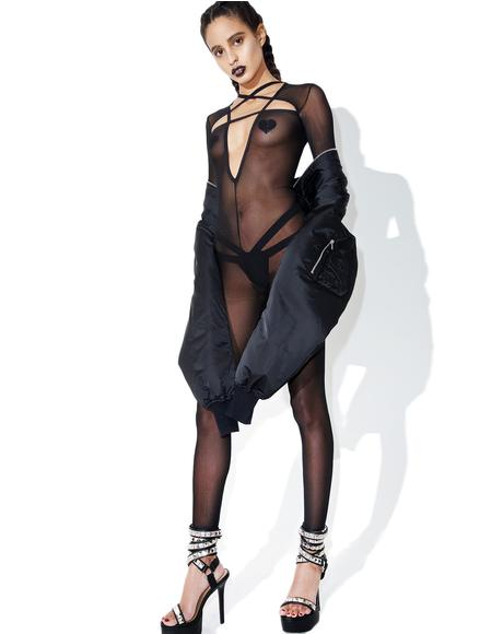 Hell'z Trial Mesh Catsuit