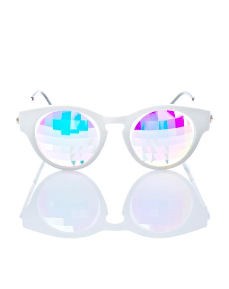 Kaleidoscope Cat-Eye Glasses