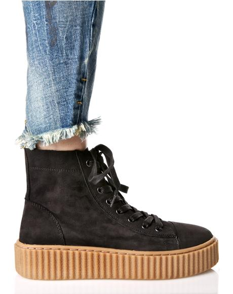 Riva Creeper-Soled Sneakers