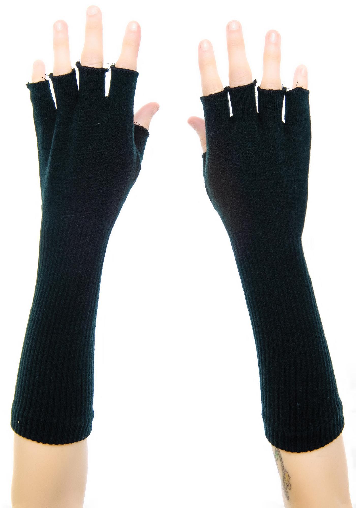 Bad Bitch Fingerless Gloves