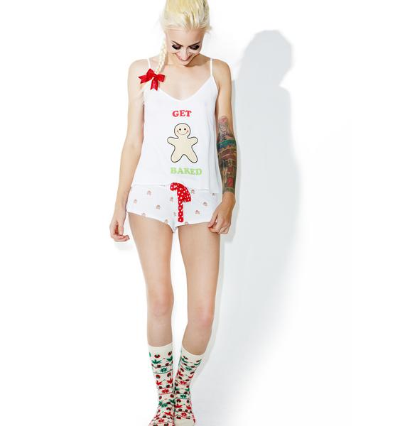 Wildfox Couture Get Baked Firelodge Set