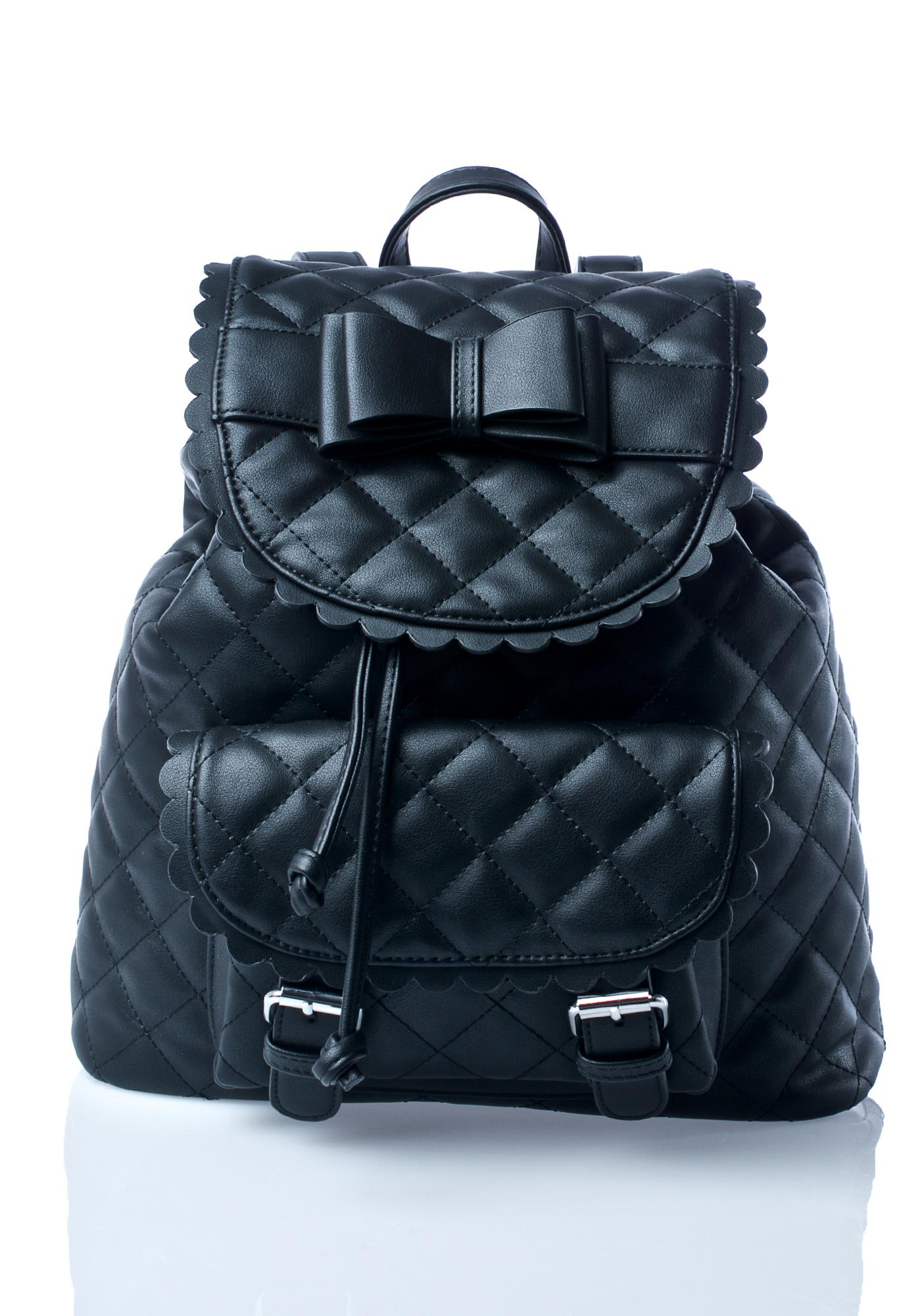 Sugarbaby Kawaii Noir Backpack