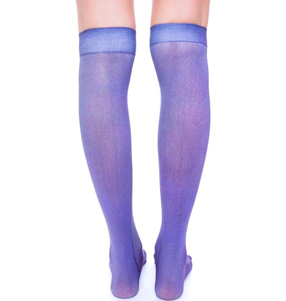 Private Arts Cross Knee High Sox