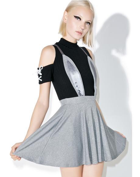 Rabbit Flared Skirt