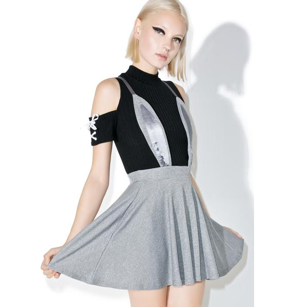 one spo Rabbit Flared Skirt