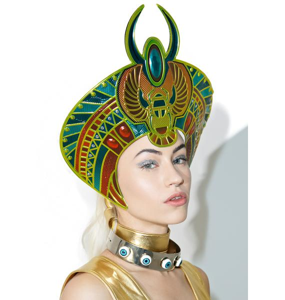 Scarab Queen Headpiece