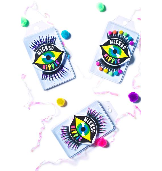 Wicked Hippie x Dolls Kill Mercy Glitter Death Lashes