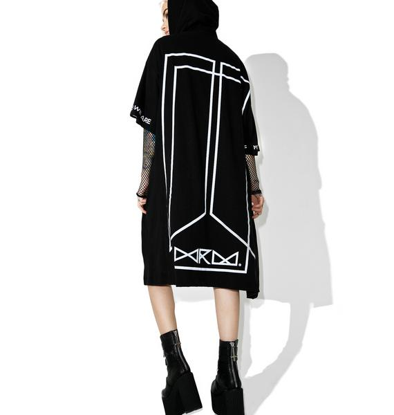 WE ARE MORTALS Kimono Hoodie