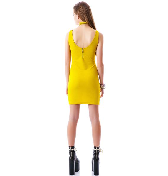 Conquest Zipper Tank Dress