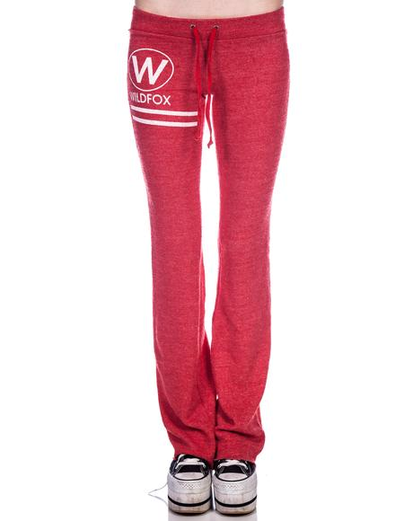 Wildfox Cruise Terry Track Suit Pants