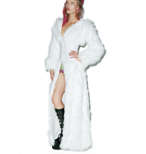 J Valentine Flashing Lights Cincher Coat