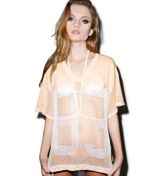 Wildfox Couture Big 83 Mesh Jersey
