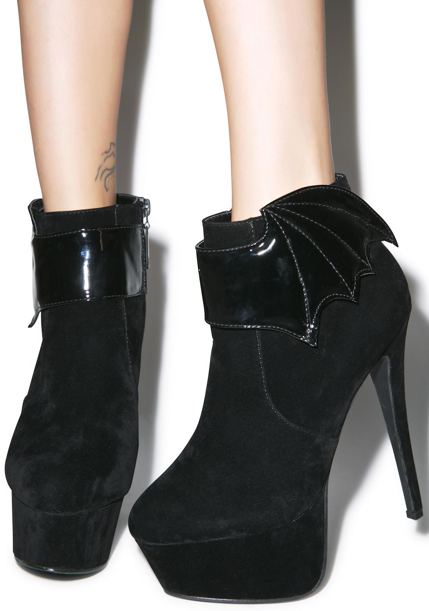 Iron Fist Night Stalker Platform Booties