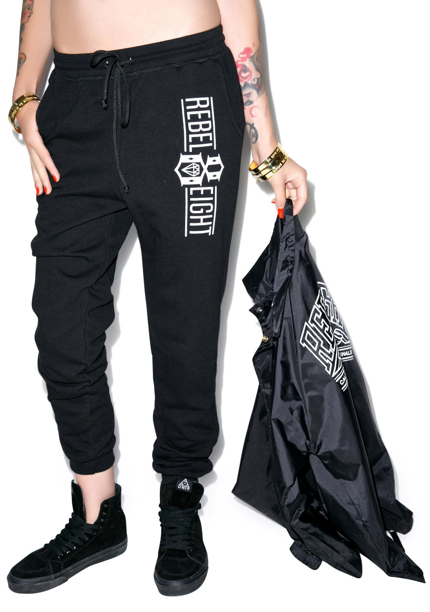Rebel8 Logo Sweatpants