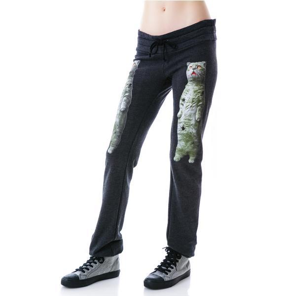 Wildfox Couture Zombie Cat Malibu Skinny Pants