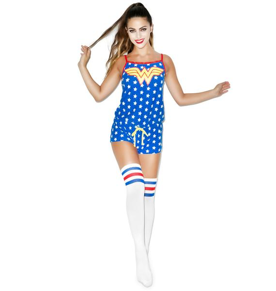 Undergirl Wonder Woman Drawstring Romper