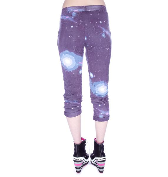 Sauce Cosmic Print Pants