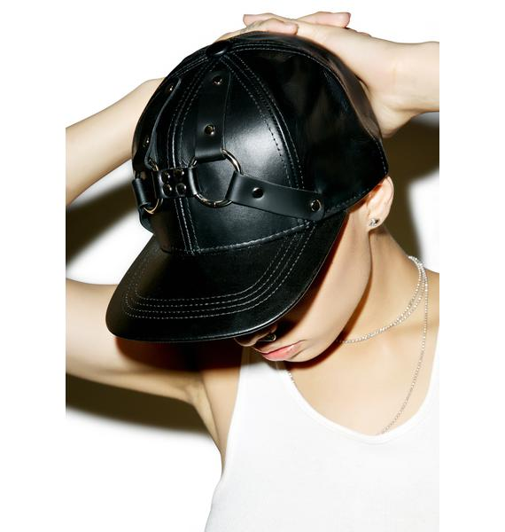 Club Exx Holy Harness Leather Hat