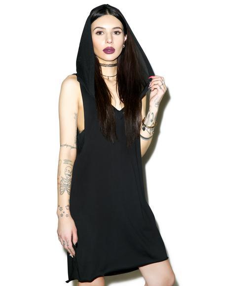 Blasphemy Hooded Dress