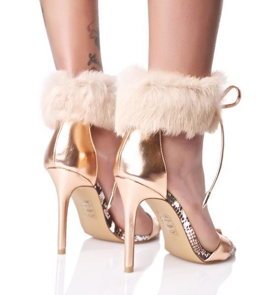 Sasha Fluffy Heels