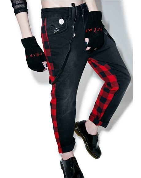 Plaid Punk Pants