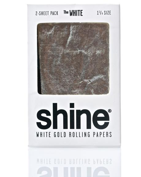24K White Gold Papers 2-Sheet Pack