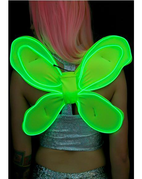 Sprite Fairy Light-Up Wings