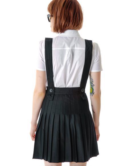 St. Trinian's School Girl Pleated Skirt