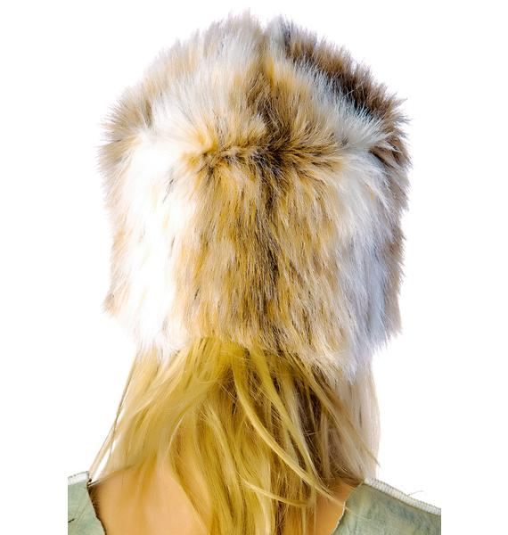 United Couture Young Hollywood Fur Hat